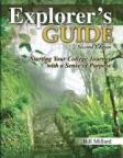 Book cover illustration for: Explorer's Guide