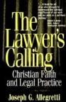 Book cover illustration from:  The Lawyer's Calling