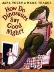 Book cover illustration for: How do Dinosaurs say Good Night?