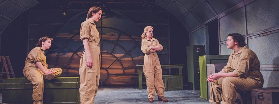 Censored on Final Approach Production Photo