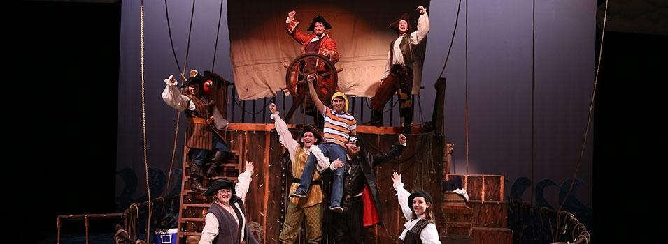 How I Became a Pirate Production Photo