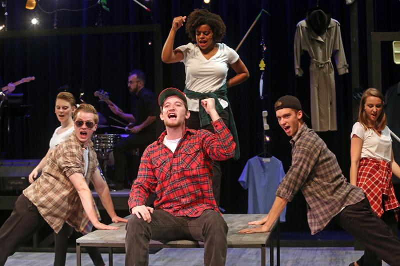 Photograph of Working, a 2017-2018 Mainstage Theatre production.