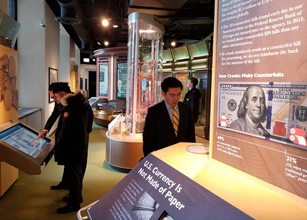 Federal Reserve Bank of Chicago Money Museum Field Trip, January 2018