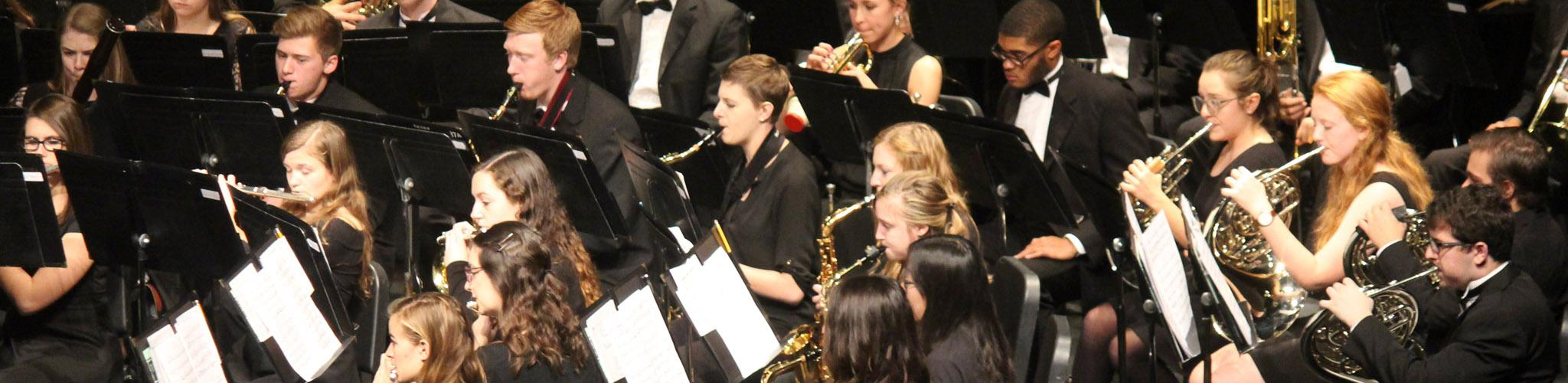 Marquette University Wind Ensemble performing