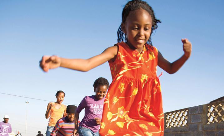 Children in Cape Town