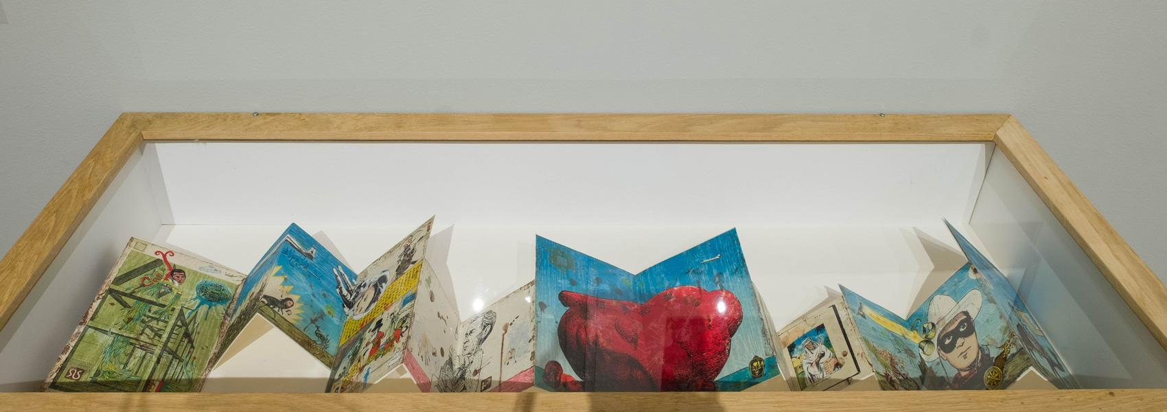 """Image from the exhibition, """"Exploring the Core Curriculum: Individuals and Communities,"""" which appeared at the Haggerty Museum of Art at Marquette University in 2019."""