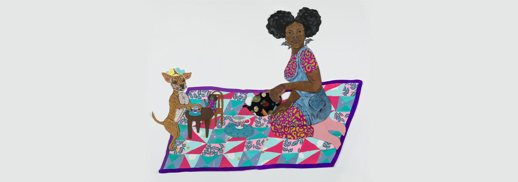 Artwork by the winners of the 2019 Mary L. Nohl Fund Fellowships at the Haggerty Museum of Art at Marquette University.