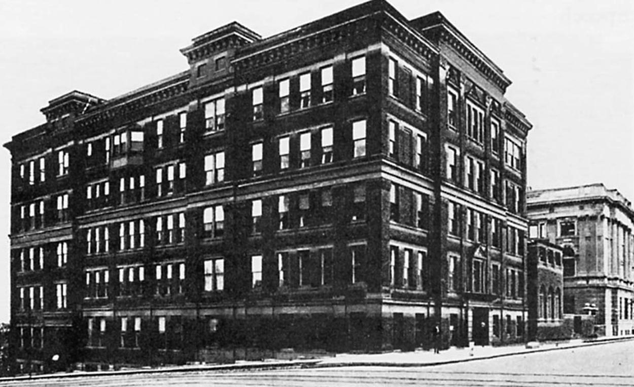 The old dental school building