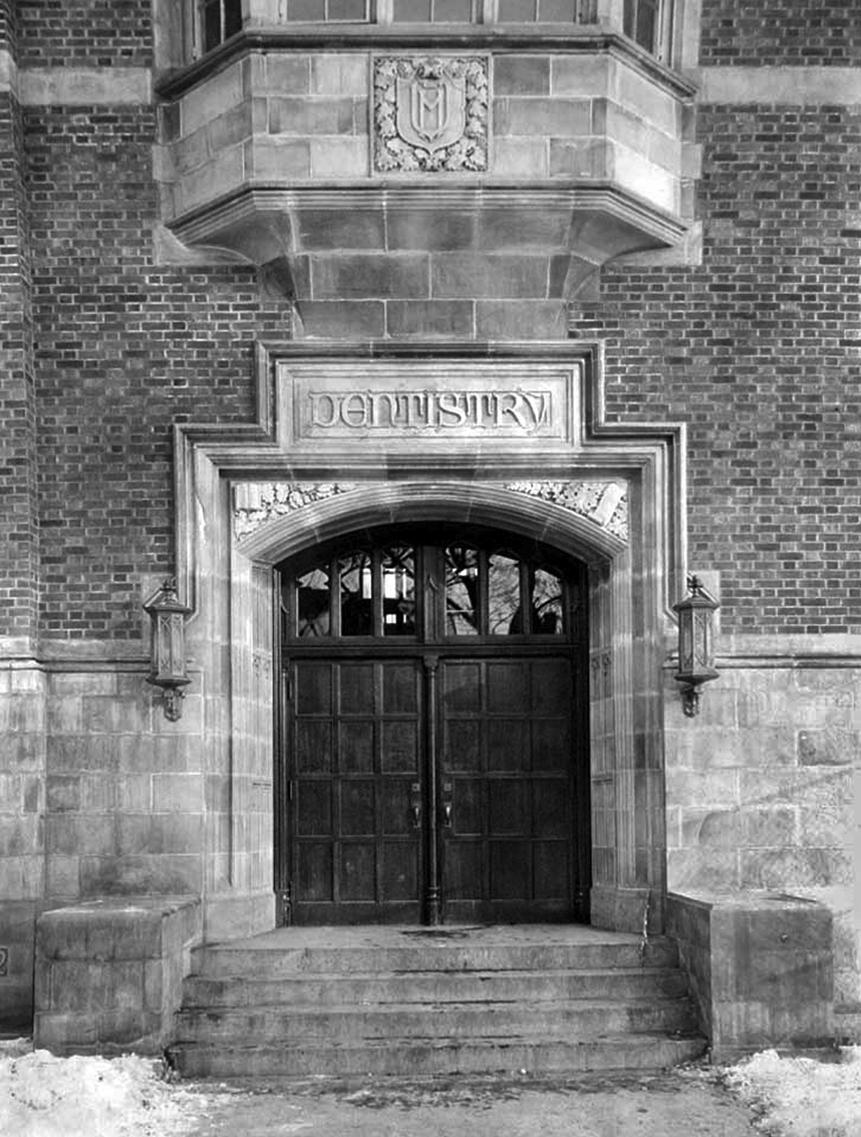 Old dental school entrance