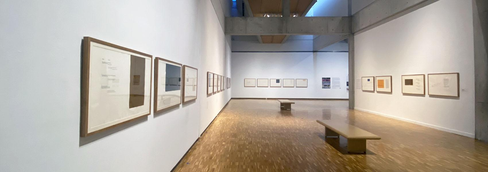 Gallery view of the Exhibition Robert Motherwell: Contemplative Beholding
