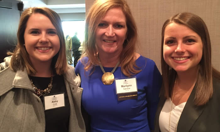 Abby Cole, Marilynn Gardner and Tricia Lindsey