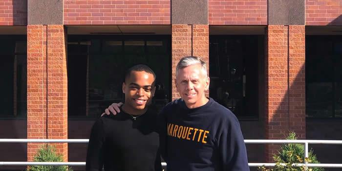 Dan Paulsen and Jalen Fox, Marquette Mentors