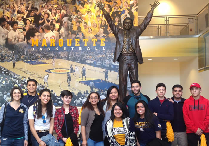 Encuentros Mentor Program, Marquette University