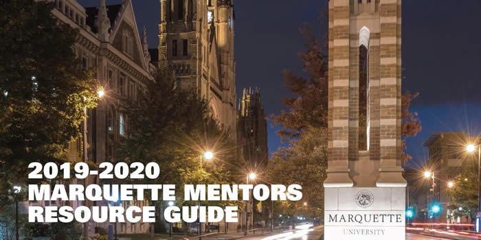 2019-20 Marquette Mentors Resource Guide