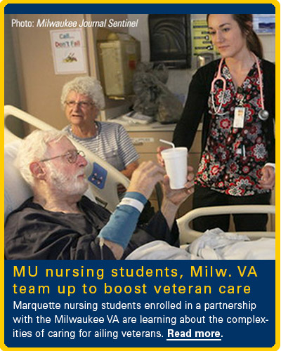 MU Nursing Students Team Up With Milwaukee VA