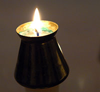 Holiday Reflection Candle