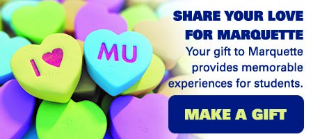 Show the love with a gift to Marquette
