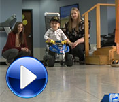 Physical Therapy students create special toddler mobile