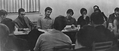 Friars of Phi Kappa Theta Meeting 1970