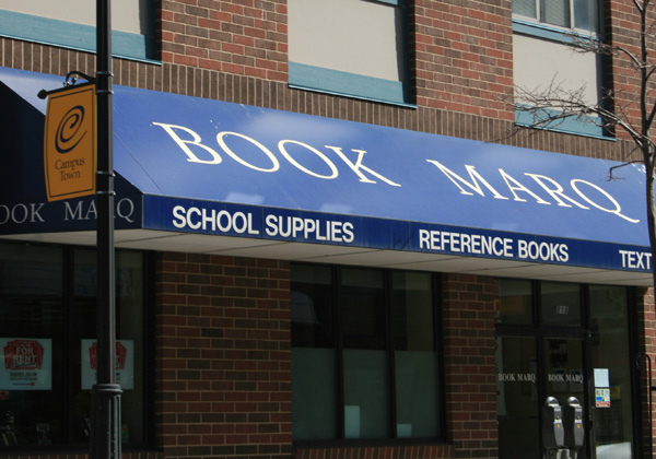 Storefront of the Book Marq at Marquette University
