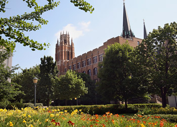 Marquette Hall on campus