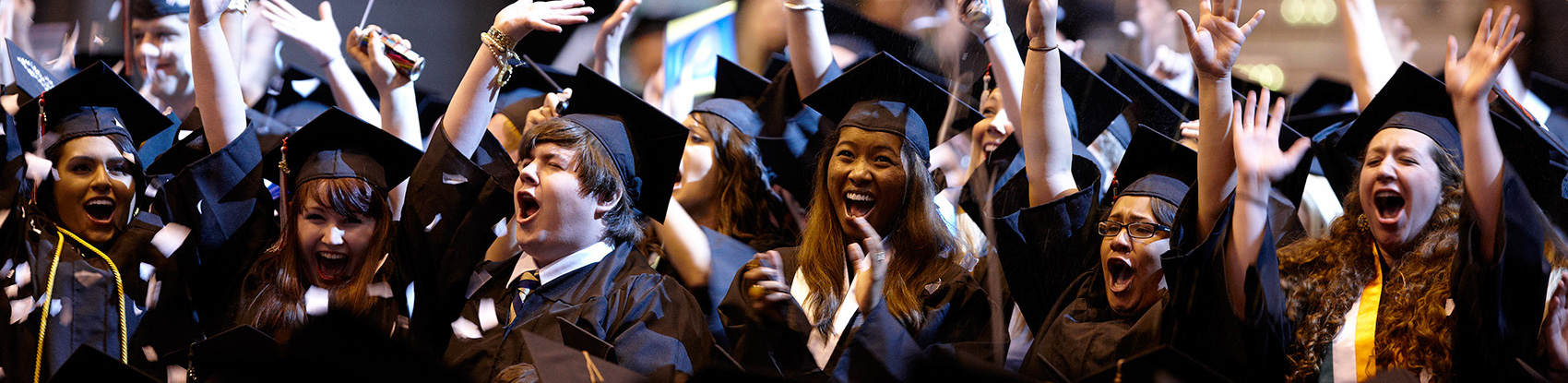 Marquette University graduates celebrate at Commencement