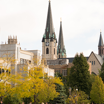 Gesu Parish Church on the Marquette University Campus