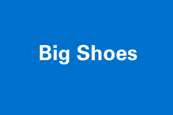Big Shoes Graphic