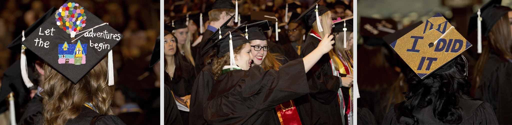 Graduation // Diederich College of Communication // Marquette University