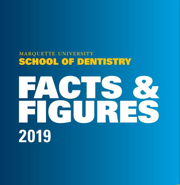 School of Dentistry Facts and Figures 2019 Cover