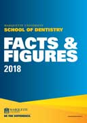 The School of Dentistry Facts and Figures 2018 Cover