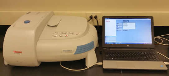 Thermo Scientific Evolution 220 UV-Visible Spectrophotometers