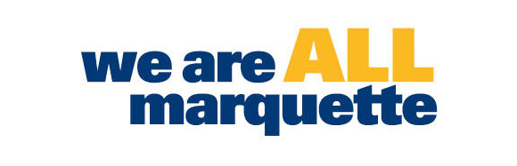 We Are All Marquette logo