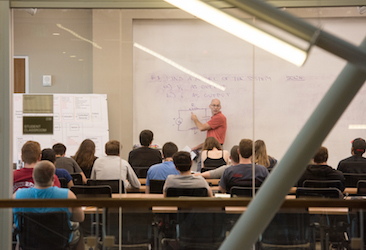 Class in Engineering Hall