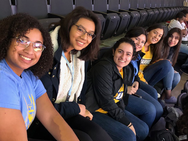 Students at the 2018 RISE Program