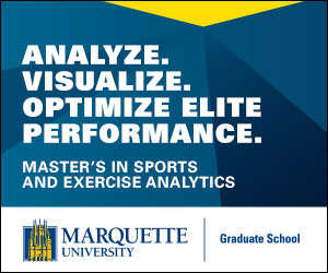 Sport and exercise data analytics master's program