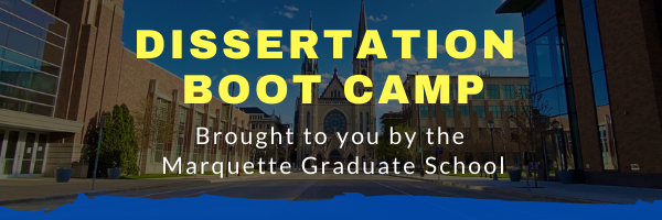 Dissertation Boot Camp 2021