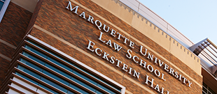 Eckstein Law School Building on Marquette's Campus