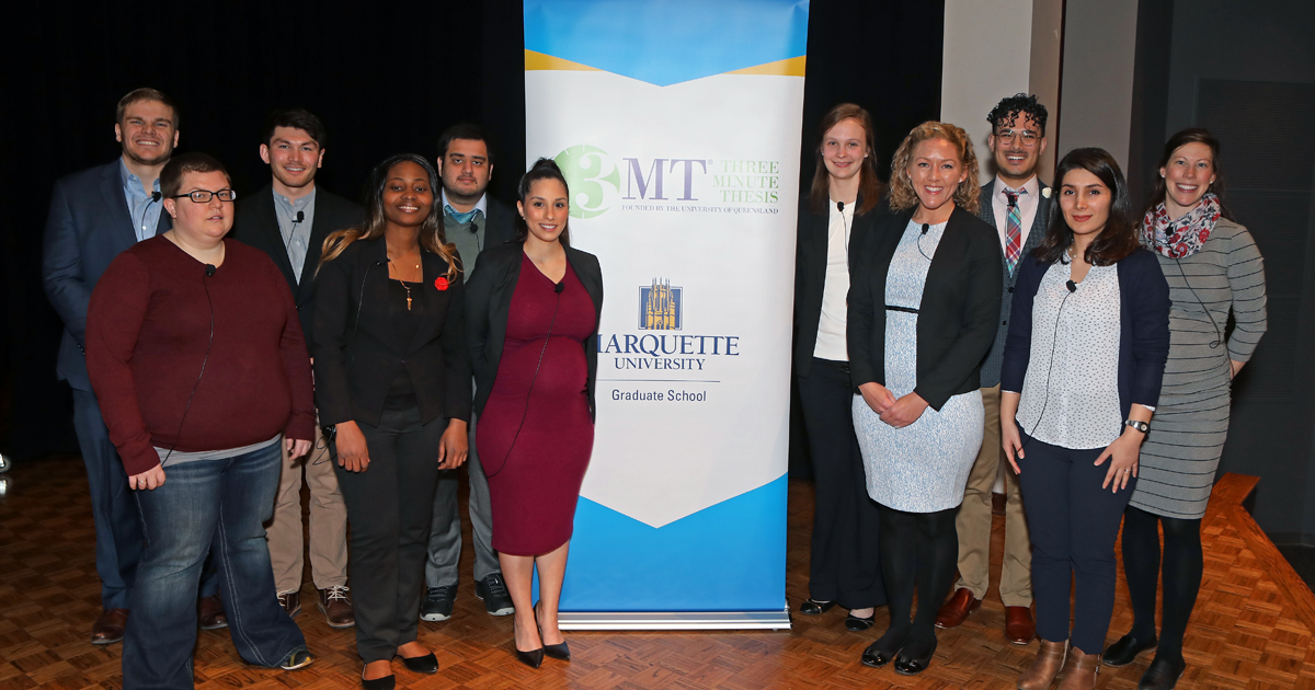 2020 Three Minute Thesis Competition