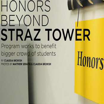 Honors beyond Straz Tower magazine article
