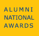 Honor a recipient during Alumni National Awards Month