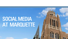 Social Media at Marquette