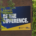 Be The Difference banner