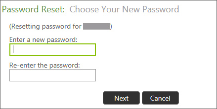 Password Reset #1