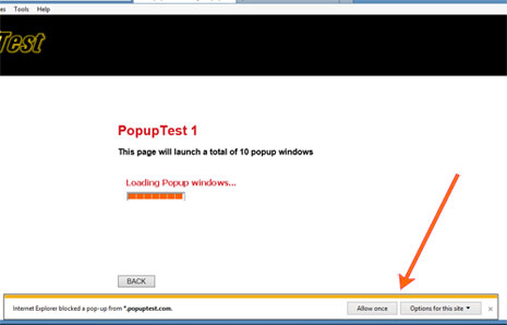 IE10 Screenshot