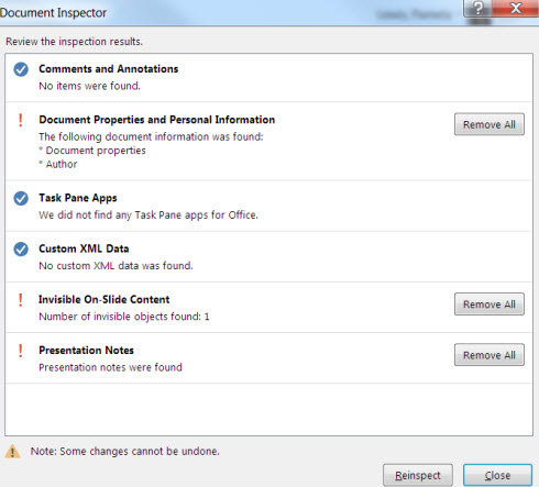 remove hidden data in microsoft powerpoint it services marquette