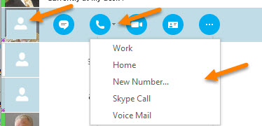 how to add people to business skype contact list