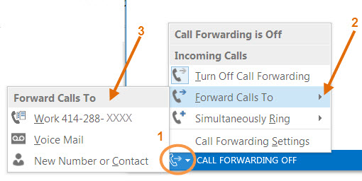 Forward all calls to another number.