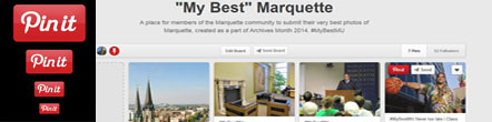 Pin your best Marquette Photo