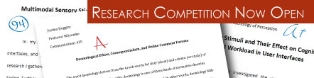 Dittman Student Research Competition Now Open